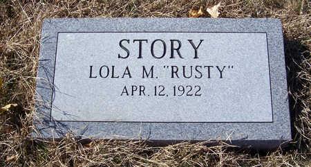 STORY, LOLA M. - Shelby County, Iowa | LOLA M. STORY