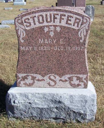 STOUFFER, MARY E. - Shelby County, Iowa | MARY E. STOUFFER
