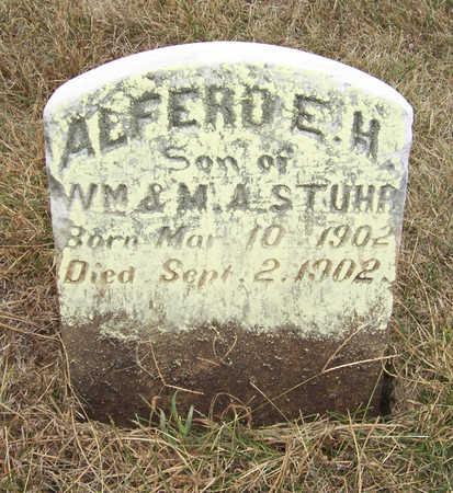 STUHR, ALFERD E. H. - Shelby County, Iowa | ALFERD E. H. STUHR
