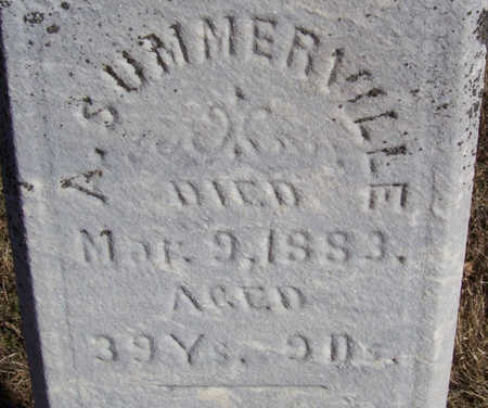 SUMMERVILLE, A. (CLOSE-UP) - Shelby County, Iowa | A. (CLOSE-UP) SUMMERVILLE