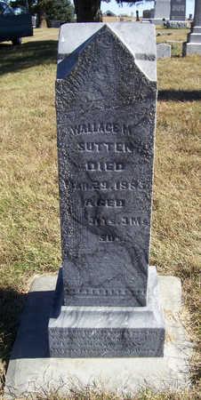 SUTTEN, WALLACE M. - Shelby County, Iowa | WALLACE M. SUTTEN