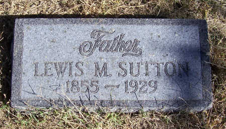 SUTTON, LEWIS M. (FATHER) - Shelby County, Iowa | LEWIS M. (FATHER) SUTTON