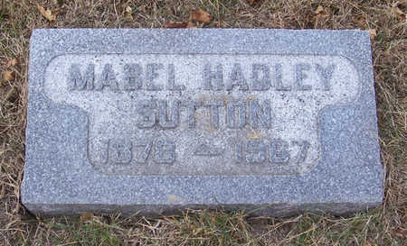 SUTTON, MABEL - Shelby County, Iowa | MABEL SUTTON