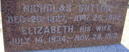 SUTTON, ELIZABETH (CLOSE-UP) - Shelby County, Iowa | ELIZABETH (CLOSE-UP) SUTTON