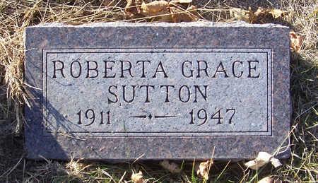 SUTTON, ROBERTA GRACE - Shelby County, Iowa | ROBERTA GRACE SUTTON