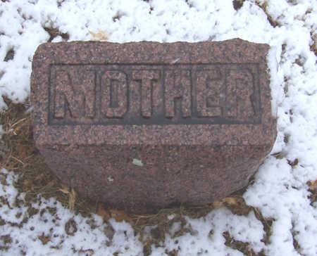 SUTTON, RHODA M. (MOTHER) - Shelby County, Iowa | RHODA M. (MOTHER) SUTTON