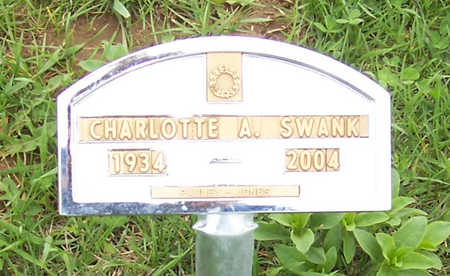 SWANK,  CHARLOTTE A. - Shelby County, Iowa |  CHARLOTTE A. SWANK
