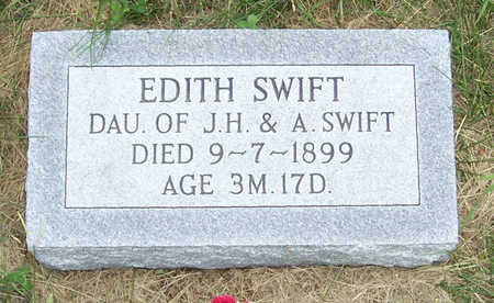 SWIFT, EDITH - Shelby County, Iowa | EDITH SWIFT