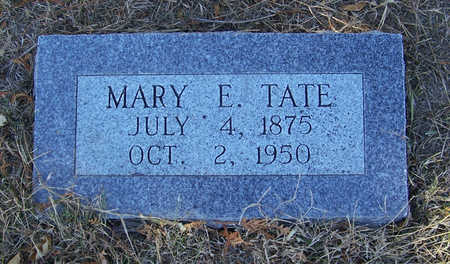 TATE, MARY E. - Shelby County, Iowa | MARY E. TATE