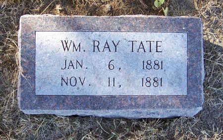 TATE, WM. RAY - Shelby County, Iowa | WM. RAY TATE