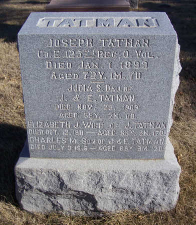 TATMAN, CHARLES M. - Shelby County, Iowa | CHARLES M. TATMAN