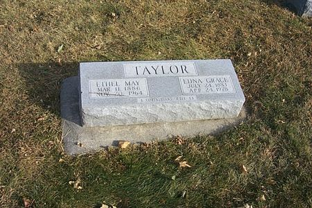 TAYLOR, ETHEL MAY - Shelby County, Iowa | ETHEL MAY TAYLOR