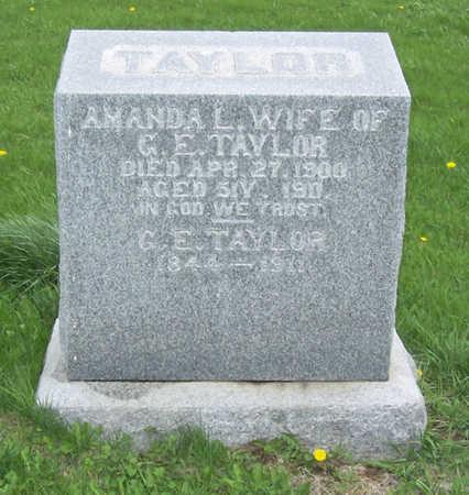 TAYLOR, GEORGE E. - Shelby County, Iowa | GEORGE E. TAYLOR