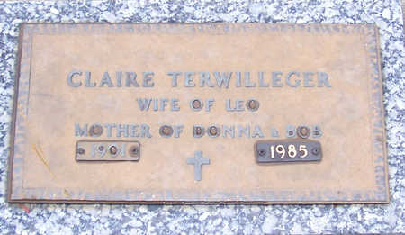 TERWILLEGER, CLAIRE - Shelby County, Iowa | CLAIRE TERWILLEGER