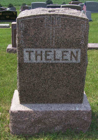 THELEN, JOHN S. & MARY (LOT) - Shelby County, Iowa | JOHN S. & MARY (LOT) THELEN