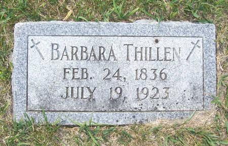 THILLEN, BARBARA - Shelby County, Iowa | BARBARA THILLEN
