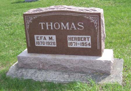 THOMAS, EFA MINTON - Shelby County, Iowa | EFA MINTON THOMAS