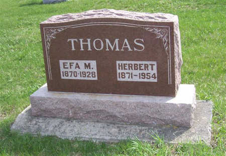 THOMAS, EFA - Shelby County, Iowa | EFA THOMAS