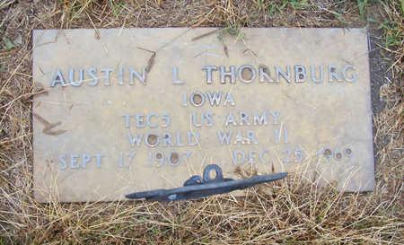 THORNBURG, AUSTIN L. (MILITARY) - Shelby County, Iowa   AUSTIN L. (MILITARY) THORNBURG
