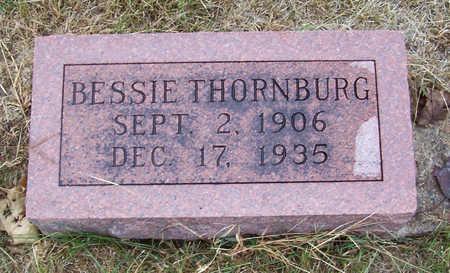 THORNBURG, BESSIE - Shelby County, Iowa | BESSIE THORNBURG