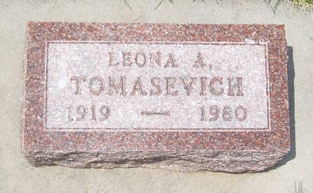 TOMASEVICH, LEONA A. - Shelby County, Iowa   LEONA A. TOMASEVICH