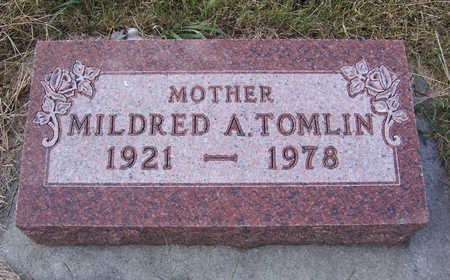 TOMLIN, MILDRED A. (MOTHER) - Shelby County, Iowa | MILDRED A. (MOTHER) TOMLIN