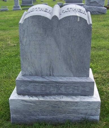 TOOKER, HATTIE A. (MOTHER) - Shelby County, Iowa | HATTIE A. (MOTHER) TOOKER