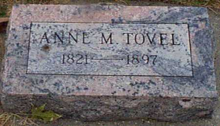 TOVEL, ANNE M - Shelby County, Iowa | ANNE M TOVEL