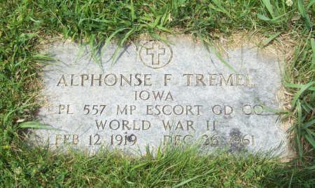 TREMEL, ALPHONSE (MILITARY) - Shelby County, Iowa | ALPHONSE (MILITARY) TREMEL