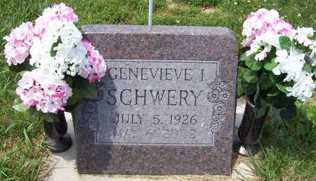SCHWERY, GENEVIEVE I. - Shelby County, Iowa | GENEVIEVE I. SCHWERY