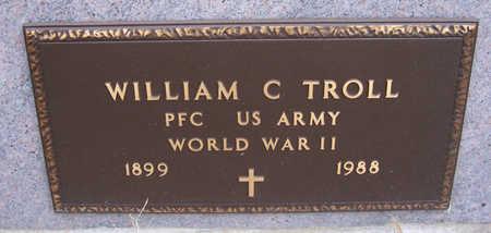 TROLL, WILLIAM C. (MILITARY) - Shelby County, Iowa | WILLIAM C. (MILITARY) TROLL