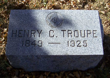 TROUPE, HENRY C. - Shelby County, Iowa | HENRY C. TROUPE