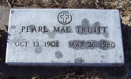 TRUITT, PEARL MAE - Shelby County, Iowa | PEARL MAE TRUITT