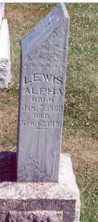 TRYON, LEWIS ALPHA - Shelby County, Iowa | LEWIS ALPHA TRYON