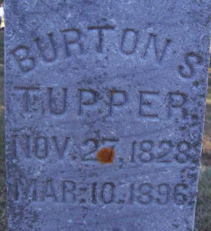 TUPPER, BURTON S. (CLOSE-UP) - Shelby County, Iowa | BURTON S. (CLOSE-UP) TUPPER