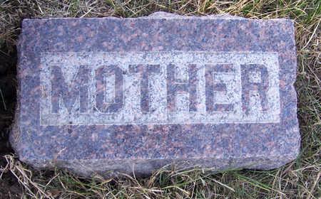 TUPPER, ELLA (MOTHER) - Shelby County, Iowa | ELLA (MOTHER) TUPPER