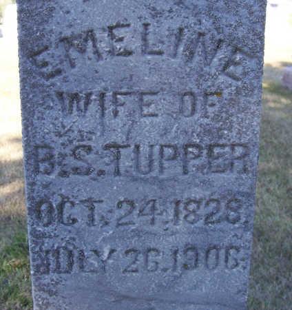 TUPPER, EMELINE (CLOSE-UP) - Shelby County, Iowa   EMELINE (CLOSE-UP) TUPPER