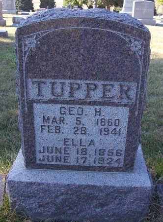 TUPPER, GEO. H. - Shelby County, Iowa   GEO. H. TUPPER