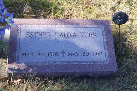 TURK, ESTHER LAURA - Shelby County, Iowa | ESTHER LAURA TURK