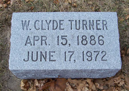 TURNER, W. CLYDE - Shelby County, Iowa | W. CLYDE TURNER
