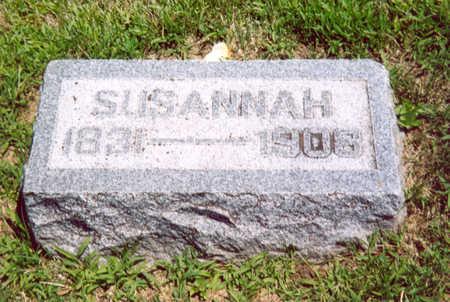 VAN ARSDOL, SUSANNAH - Shelby County, Iowa | SUSANNAH VAN ARSDOL