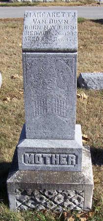 VAN DUYN, MARGARETT J. (MOTHER) - Shelby County, Iowa | MARGARETT J. (MOTHER) VAN DUYN