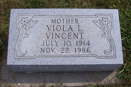 VINCENT, VIOLA L. (MOTHER) - Shelby County, Iowa | VIOLA L. (MOTHER) VINCENT
