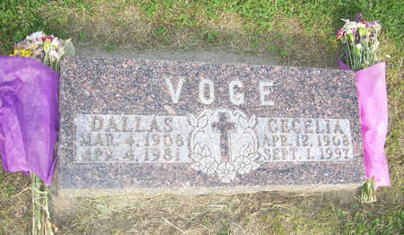 VOGE, CECELIA - Shelby County, Iowa | CECELIA VOGE