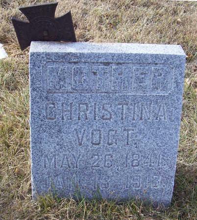 VOGT, CHRISTINA (MOTHER) - Shelby County, Iowa | CHRISTINA (MOTHER) VOGT