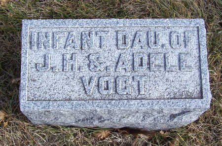 VOGT, INFANT DAUGHTER - Shelby County, Iowa | INFANT DAUGHTER VOGT