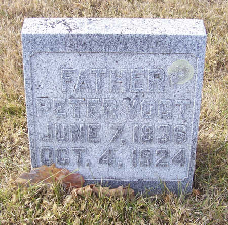 VOGT, PETER (FATHER) - Shelby County, Iowa   PETER (FATHER) VOGT