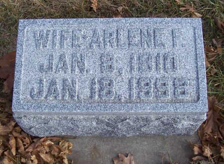 VON ESCHEN, ARLENE F. (WIFE) - Shelby County, Iowa   ARLENE F. (WIFE) VON ESCHEN