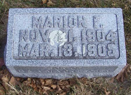 VON ESCHEN, MARION F. - Shelby County, Iowa | MARION F. VON ESCHEN
