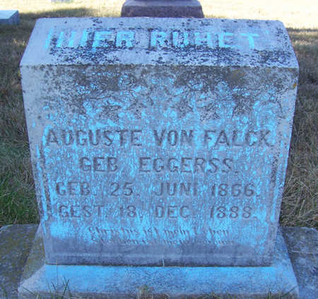 EGGERSS VON FALCK, AUGUSTE - Shelby County, Iowa | AUGUSTE EGGERSS VON FALCK